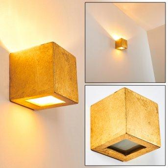 Noto Aplique dorado, 1 luz