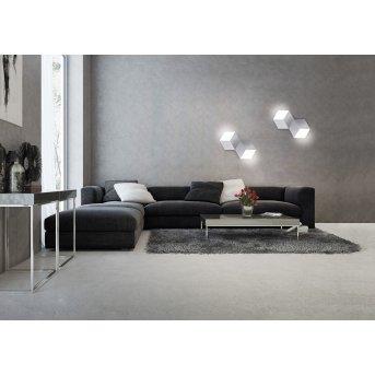 Grossmann GEO Lámpara de techo o pared LED Aluminio, 2 luces