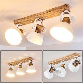 Orny Lámpara de Techo Blanca, 3 luces