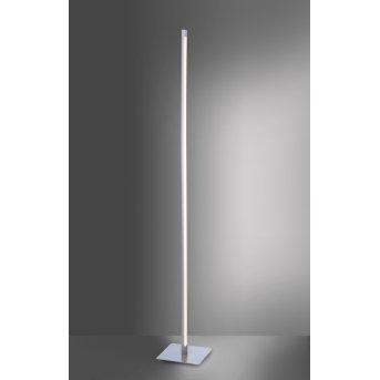 Leuchten-Direkt BELLA Lámpara de Pie LED Acero inoxidable, 1 luz