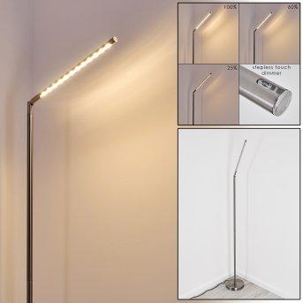 Deje Lámpara de Pie LED Níquel-mate, 1 luz