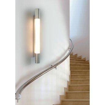 Tecnolumen Ariane Aplique Acero inoxidable, 2 luces