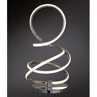 Wofi SOLLER Lámpara de mesa LED Cromo, 1 luz