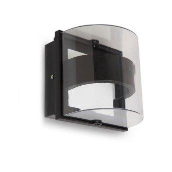 Lutec DELTA Aplique para exterior Antracita, 1 luz