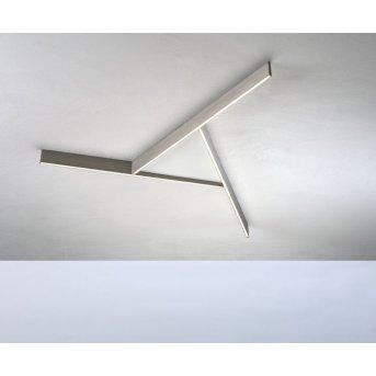 Bopp NANO PLUS COMFORT Lámpara de Techo LED Blanca, Beige, 1 luz