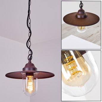 Mijas Lámpara para exterior Color óxido, 1 luz