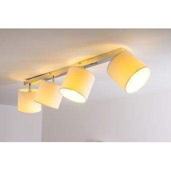 Brilliant Sandra Lámpara de techo Cromo, 4 luces