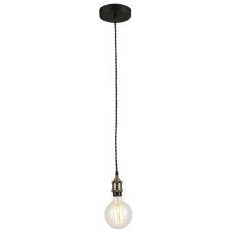 Lutec VINTAGE Lámpara de Techo Marrón, 1 luz
