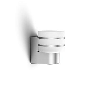Philips Hue White Tuar Aplique LED Plata, Aluminio, 1 luz