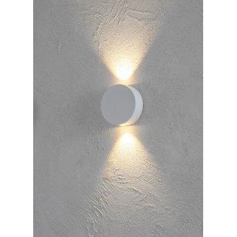 Escale SUN Aplique LED Blanca, 2 luces
