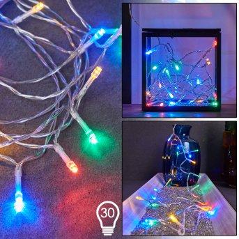 Sondrio Tira de luces LED, 30 luces