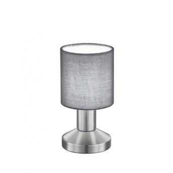 Trio GARDA Lámpara de mesa Níquel-mate, 1 luz