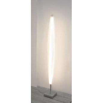 Escale Stratos Lámpara de Pie LED Níquel-mate, 1 luz