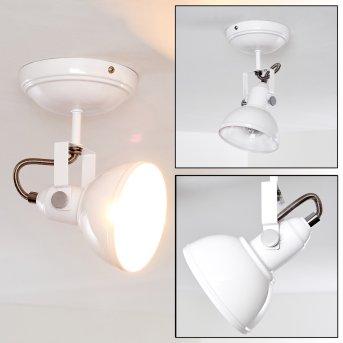 Tina Lámpara de Techo Blanca, 1 luz