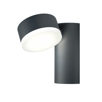 LEDVANCE ENDURA Aplique para exterior Negro, 1 luz