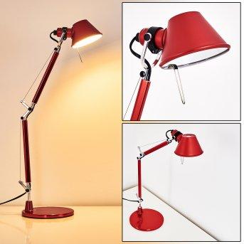 Artemide TOLOMEO MICRO Lámpara de Mesa Rojo, 1 luz