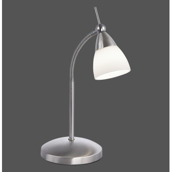 Paul Neuhaus PINO Lámpara de Mesa LED Acero inoxidable, 1 luz