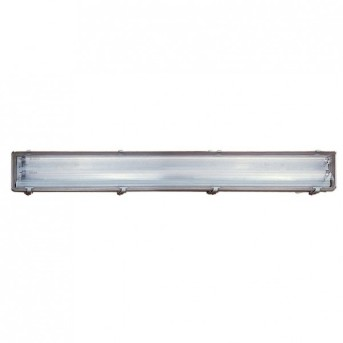 Nordlux WORKS Lámpara para armarios Plata, 2 luces