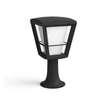 Philips Hue Ambiance White & Color Econic Poste de Jardín LED Negro, 1 luz, Cambia de color