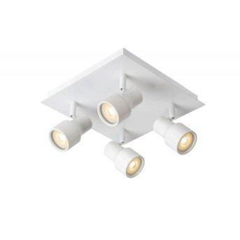 Lucide SIRENE Lámpara de techo LED Blanca, 4 luces
