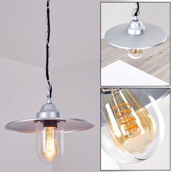 Mijas Lámpara para exterior Plata, 1 luz