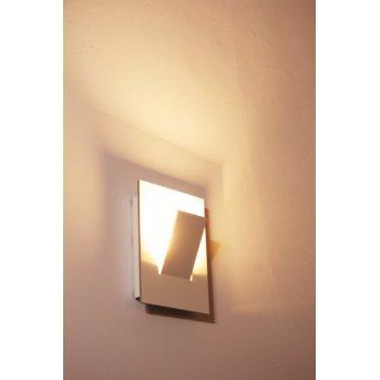 Eva Luz Alpha Aplique LED Blanca, 1 luz