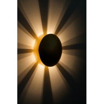 Brilliant Sunset Aplique dorado, 1 luz