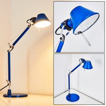 Artemide TOLOMEO MICRO Lámpara de Mesa Azul, 1 luz