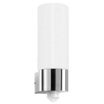 Cmd Aqua Wall Aplique Acero inoxidable, 1 luz, Sensor de movimiento