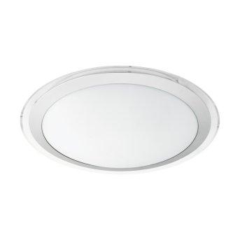 Eglo COMPETA-C Lámpara de Techo LED Blanca, 1 luz, Cambia de color