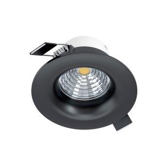 Eglo SALICETO Lámpara empotrable LED Negro, 1 luz