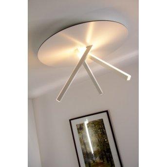 Eva Luz Orion Lámpara de techo LED Blanca, 3 luces