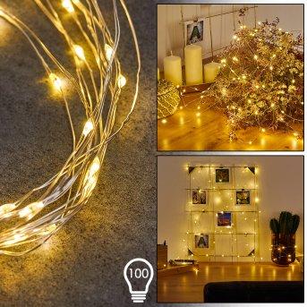 Sondrio Tira de luces LED, 100 luces