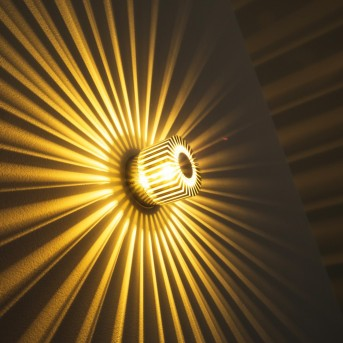 Cantoni Aplique Níquel-mate, 1 luz