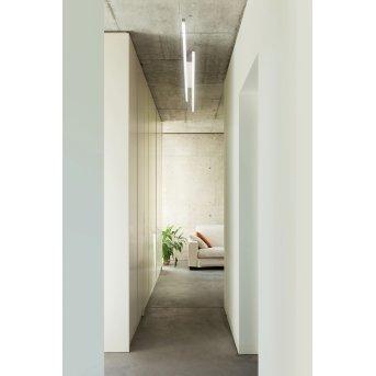 Grossmann FORTE Lámpara de techo LED Aluminio, 8 luces