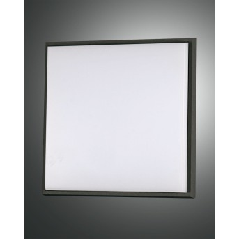 Fabas Luce Desdy Lámpara de techo para exterior LED Negro, 1 luz