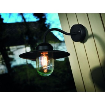 Nordlux LUXEMBOURG Aplique para exterior Negro, 1 luz