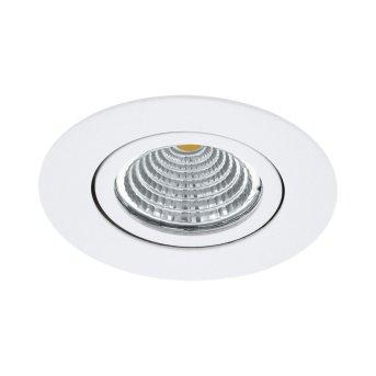 Eglo SALICETO Lámpara empotrable LED Blanca, 1 luz