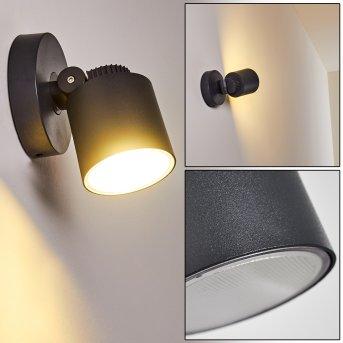 Aplique para exterior Apenrader LED Antracita, 1 luz
