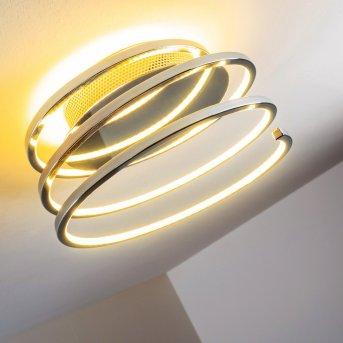 Sepino Lámpara de techo LED Cromo, 1 luz