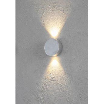 Escale SUN Aplique LED Aluminio, 2 luces