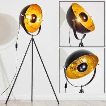 Saturn Lámpara de Pie Negro, 1 luz