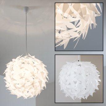 TAVANI Lámpara de Techo Blanca, 1 luz