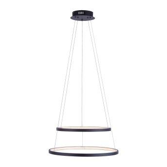 Leuchten Direkt CIRCLE Lámpara Colgante LED Antracita, 1 luz