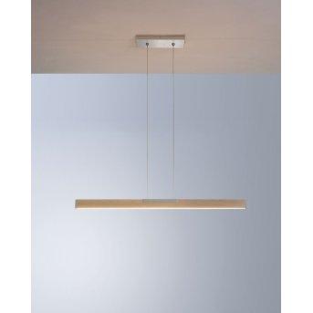Bopp NANO Lámpara Colgante LED Aluminio, Madera oscura, 1 luz